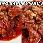 Resep Membuat Daging Bumbu Bali Enak dan Pedas Full