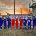 First Gas In KKKS Jindi South Jambi B
