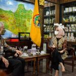 Stafsus Presiden Angkie Yudistia melakukan pertemuan dengan Gubernur Jateng Ganjar Pranowo, Rabu (02/06)