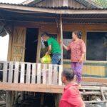 Gencar Salurkan Puluhan Sembako ke Daerah Perairan Banyuasin