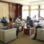 Pengurus JMSI Prabumulih saat audiensi dengan Wali Kota Prabumulih, Ir H Ridho Yahya, Rabu (9/6)