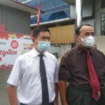 Dr Febrian SH MS bersama Prof Dr Ir H Anis Saggaf MSCE