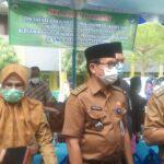 Ketua FKUU Amiruddin Nahrawi (Cak Amir) saat kunjungan ke SMA Negeri 18 Palembang
