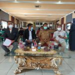 Pelantikan Pengcab JMSI Prabumulih Selasa (29/6) di Gedung Kesenian Komplek Rumah Dinas Walikota Prabumulih menerapkan protokol kesehatan Covid-19