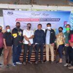 Usai di Lantik, Pengda JMSI Maluku Lakukan Raker I di Pantai Natsepa