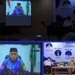 """Gubernur Aceh Nova Iriansyah saat diskusi publik """"Peluang dan Tantangan Pengembangan Ekonomi Pedesaan"""""""