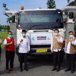Pemkab OKI menerima bantuan CSR PT OKI Pul and Paper, berupa liquid oxygen dan gas oxygen bagi rumah sakit di Ogan Komering Ilir