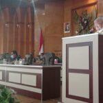 Penyampaian Laporan Hasil Pembahasan Rancangan Perda Kabupaten Asahan Tentang RPJMD Kabupaten Asahan Tahun 2021-2026