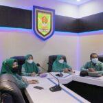 TP PKK Kabupaten Asahan ikuti Launching dan Sosialiasi gerakan keluarga sehat tanggap dan tangguh bencana secara virtual