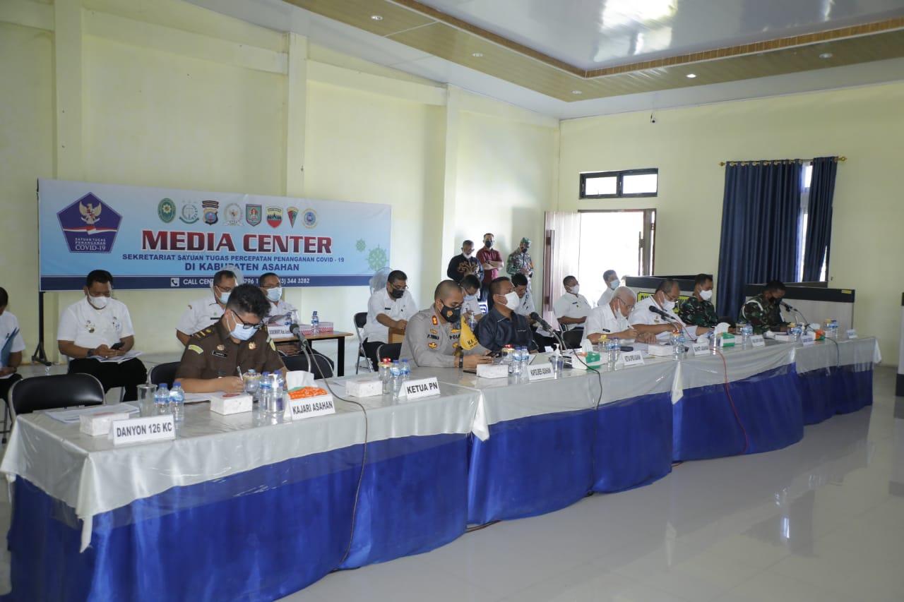 Pemkab Asahan gelar rapat tindak lanjut tentang pelaksanaan PPKM Mikro