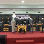 DPRD Kota Palembang menggelar Rapat Paripurna XII, Kamis (26/8)