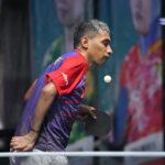 Salah satu atlet para tenis meja andalan Indonesia, David Jacobs