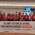 Kedutaan Besar Republik Indonesia (KBRI) Tokyo kembali menyambut kedatangan Tim Kontingen Indonesia kloter 4 untuk Paralimpiade Tokyo 2020 di Bandara Haneda Tokyo Jumat (20/8)