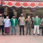 Ketua Forum Komunikasi Camat Kabupaten Tegal Mochamad Dhomiri usai dimintai keterangan di Polres Tegal