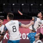 Timnas bola voli putra Argentina raih medali perunggu pada Olimpiade Tokyo 2020, Sabtu (7/8/2021) (sumber foto: volleyball world)