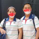 Pasangan ganda campuran para badminton Indonesia Hary Susanto/Leani Ratri (foto: NPC Indonesia)