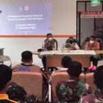 Badan Nasional Penanggulangan Bencana dan Satuan Tugas Penanganan Covid-19 Nasional telah melaksanakan kegiatan peningkatan kapasitas relawan prokes untuk mendukung PON XX di Papua