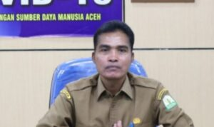 Kepala BKPSDM Aceh Syaridin, S.Pd, M.Pd