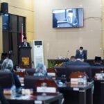 Rapat Paripurna XXIV DPRD Kabupaten OKU Timur masa sidang I tahun 2021, Rabu (8/9)