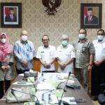 Rapat Audit Tujuan Tertentu atas Pinjaman PEN Daerah Tahun 2020 dan pada Pemerintah Provinsi Sumatera Selatan, di Ruang Rapat Sekda, Rabu (8/9)