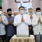 Gubernur Sumsel, H Herman Deru meresmikan Masjid Tauhidurrahman, Jumat (10/9)