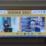 Seminar Ilmiah Sistem Informasi Manajemen dan Akuntansi (Sisima 2021) dengan tema Penyempurnaan Mekanisme Manajemen dan Akuntansi Melalui Peningkatan Peran Teknologi Informasi , Rabu (15/9)