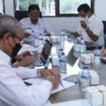 Pemerintah Aceh menggelar Rapat Koordinasi (Rakor) terkait pengolahan limbah B3 medis umum dan B3 Covid-19