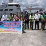 Distrik Navigasi Kelas I Palembang melaksanakan program padat karya tahap II