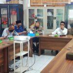 Rapat koordinasi analisis evaluasi penanganan Covid-19 di Kantor BPBD OKI, Kamis (23/9)
