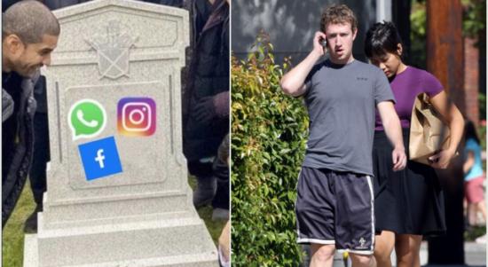Mark Zuckerberg Bangkrut Rp99,5 Triliun karena WhatsApp, Facebook dan Instagram Down