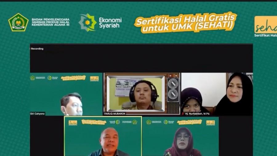 Webinar Sosialisasi Sehati UMK