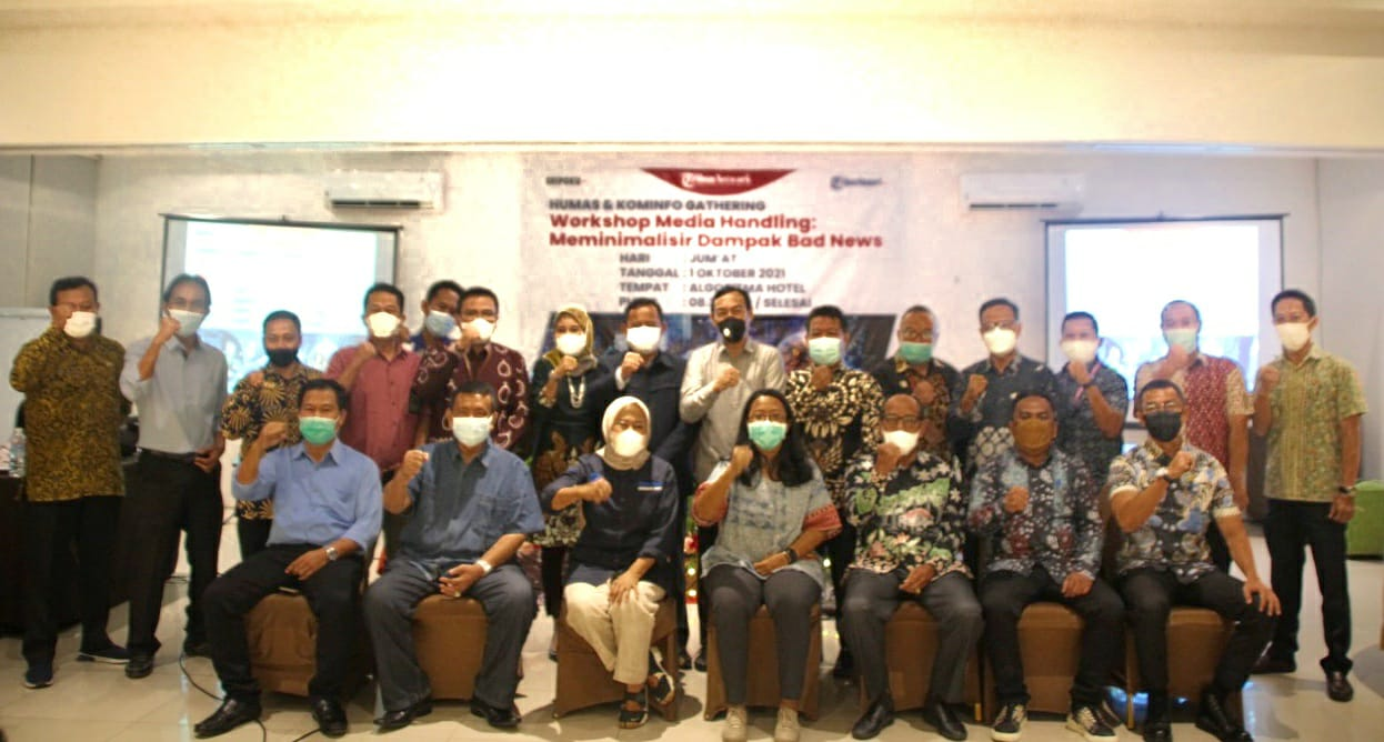 Humas Gathering Sumatra Selatan, Jumat (1/10)