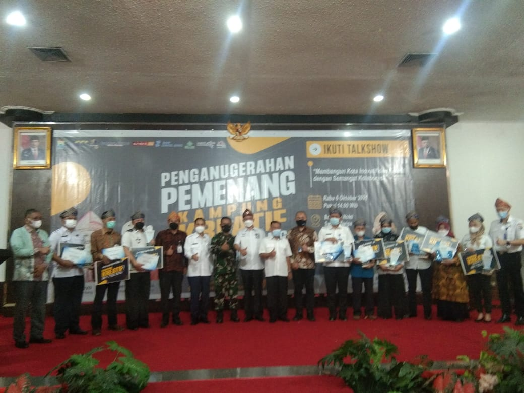 Pengumuman pemenang Kampung Kreatif Kota Palembang, Rabu (6/10)
