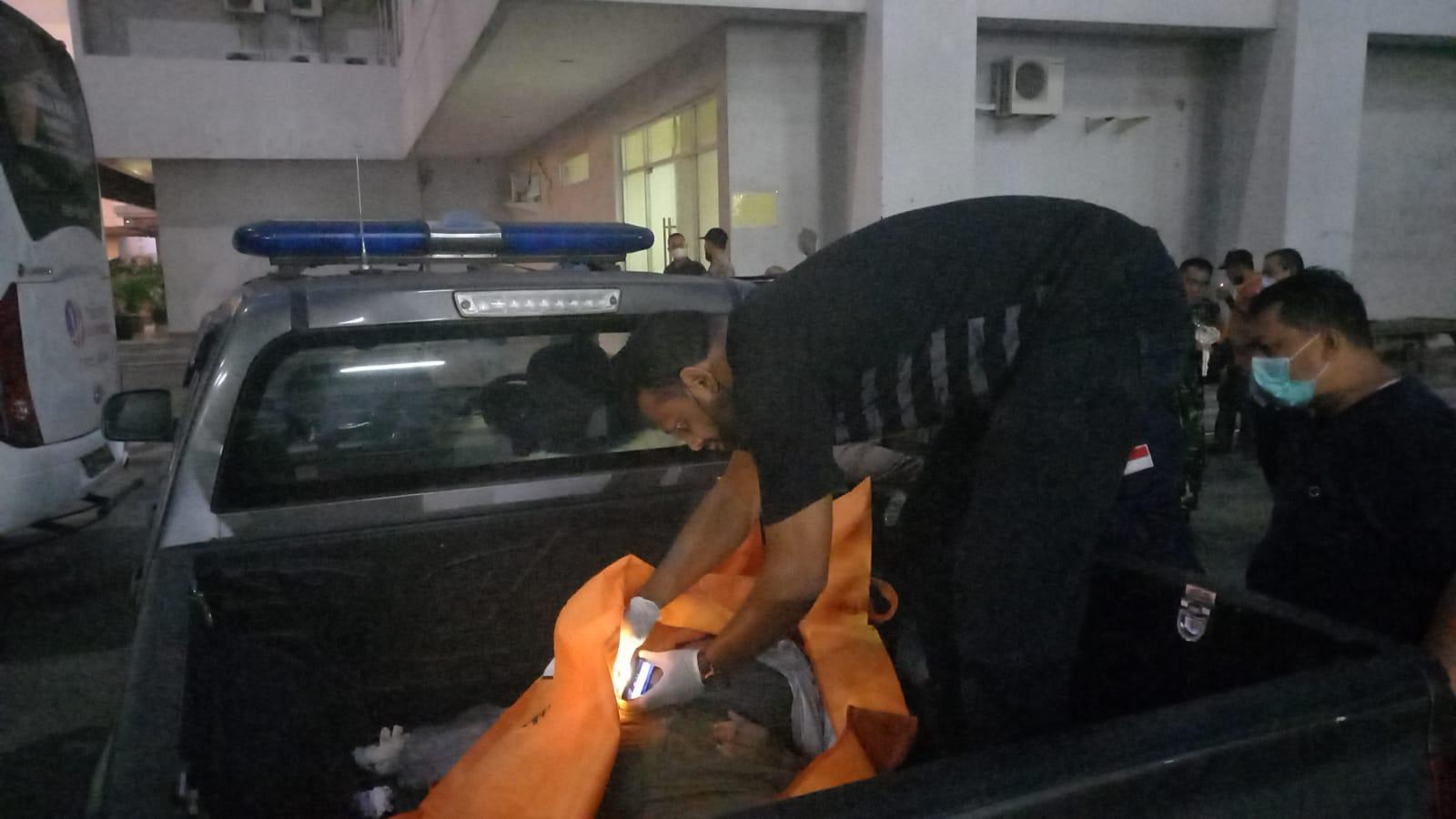 pemuda tewas di parkiran rubanah (basement) mal di kawasan Jalan Letkol Iskandar, Jumat (8/10)