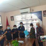 Dewan Pers berfoto bersama Pengurus JMSI Bengkulu usai verifikasi faktual, Selasa (12/10)