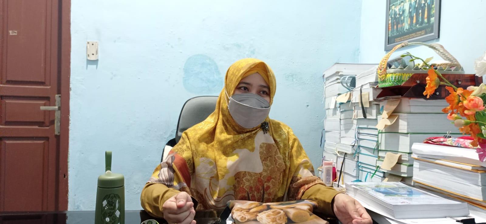 Kabid Tata Lingkungan dan Peningkatan Kapasitas Lingkungan Hidup Dinas Lingkungan Hidup dan Kebersihan Kota Palembang, Desy Elvianti SPi MSi