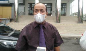 Universitas Sriwijaya mengelar Wisuda ke-156 di Gedung Fakultas Hukum