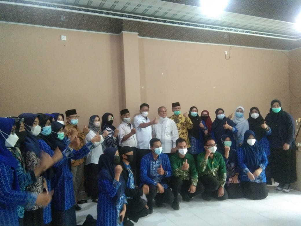 Kepala Dinas Pendidikan Provinsi Sumsel Drs H Riza Fahlevi MM membuka secara resmi Workshop Penjajakan dan Penguatan Kerjasama Sekolah dengan Diduka