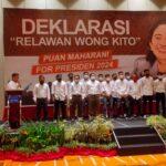 "Deklarasi ""Relawan Wong Kito"", Rabu (20/10)"