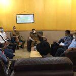 Pemkab OKI menerima audiensi Solidaritas Wartawan Indonesia Kabupaten OKI, Senin (25/10)
