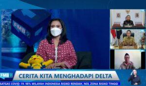 """Diskusi virtual Forum Merdeka Barat 9 (FMB9) bertajuk """"Cerita Kita Menghadapi Delta"""""""